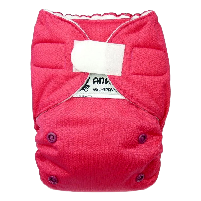 Anavy Easy - Roze AIO wasbare luier Anavy
