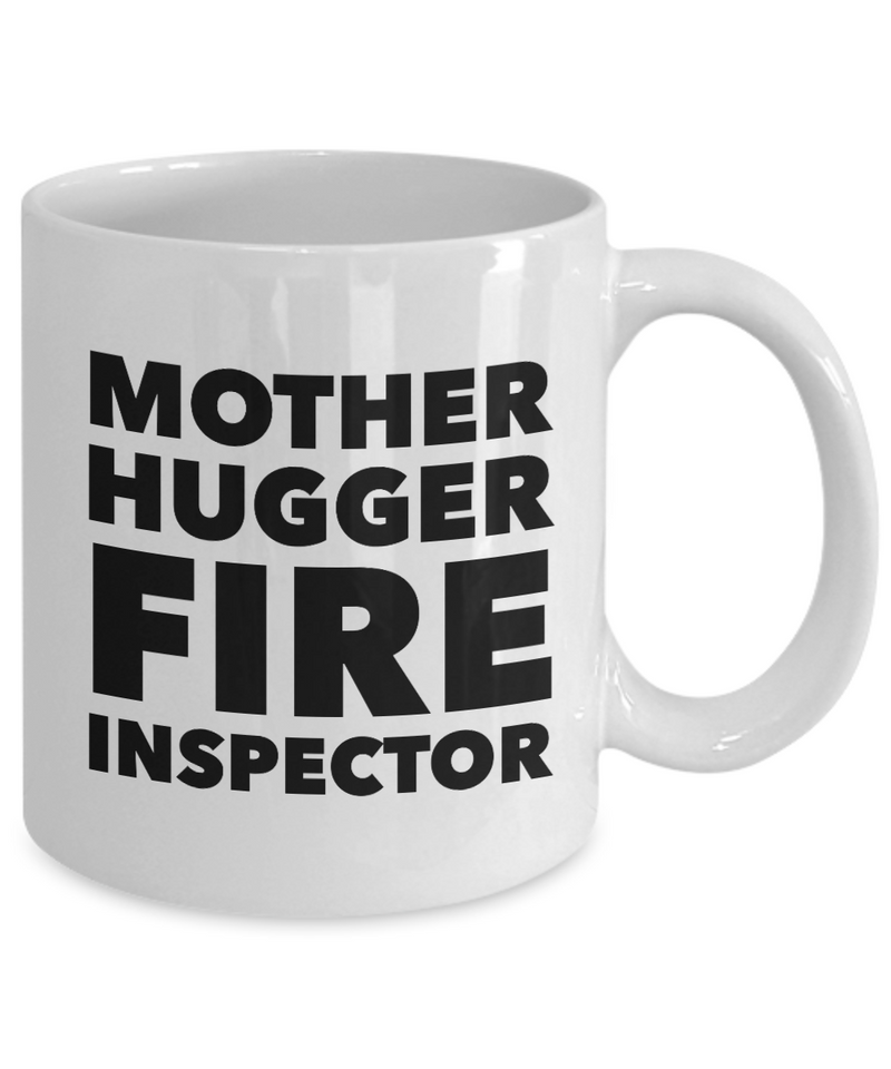 Mother Hugger Fire Inspector Gag Gift for Coworker Boss Retirement or Birthday - Ribbon Canyon