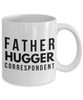 Father Hugger Correspondent Gag Gift for Coworker Boss Retirement or Birthday - Ribbon Canyon