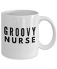 Groovy Nurse - Birthday Retirement or Thank you Gift Idea -   11oz Coffee Mug - Ribbon Canyon