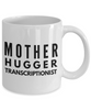 Mother Hugger Transcriptionist, 11oz Coffee Mug  Dad Mom Inspired Gift - Ribbon Canyon