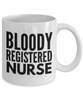 Bloody Registered Nurse Gag Gift for Coworker Boss Retirement or Birthday - Ribbon Canyon