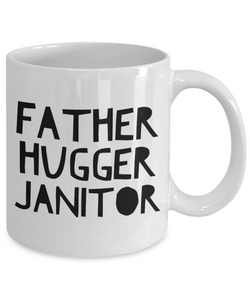 Father Hugger Janitor Gag Gift for Coworker Boss Retirement or Birthday - Ribbon Canyon