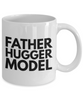 Father Hugger Model, 11oz Coffee Mug  Dad Mom Inspired Gift - Ribbon Canyon