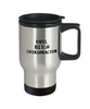 Evil Bitch Chiropractor, 14Oz Travel Mug  Dad Mom Inspired Gift - Ribbon Canyon