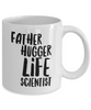 Father Hugger Life Scientist Gag Gift for Coworker Boss Retirement or Birthday - Ribbon Canyon