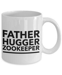 Father Hugger Zookeeper Gag Gift for Coworker Boss Retirement or Birthday - Ribbon Canyon