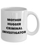 Mother Hugger Criminal Investigator Gag Gift for Coworker Boss Retirement or Birthday - Ribbon Canyon