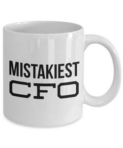 Mistakiest Cfo Gag Gift for Coworker Boss Retirement or Birthday - Ribbon Canyon