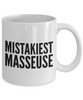 Mistakiest Masseuse Gag Gift for Coworker Boss Retirement or Birthday - Ribbon Canyon