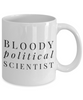 Bloody Political Scientist Gag Gift for Coworker Boss Retirement or Birthday - Ribbon Canyon