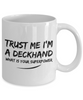 Trust Me I'm a Deckhand What Is Your Superpower, 11Oz Coffee Mug for Dad, Grandpa, Husband From Son, Daughter, Wife for Coffee & Tea Lovers - Ribbon Canyon