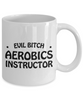 Funny Mug Evil Bitch Aerobics Instructor 11Oz Coffee Mug Funny Christmas Gift for Dad, Grandpa, Husband From Son, Daughter, Wife for Coffee & Tea Lovers Birthday Gift Ceramic - Ribbon Canyon