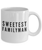 Sweetest Familyman - Inspired Gifts for Dad Mom Birthday Father or Mother Day   11oz Coffee Mug - Ribbon Canyon