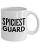 Spiciest Guard - Birthday Retirement or Thank you Gift Idea -   11oz Coffee Mug - Ribbon Canyon