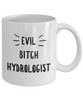 Evil Bitch Hydrologist, 11Oz Coffee Mug Unique Gift Idea Coffee Mug - Father's Day / Birthday / Christmas Present - Ribbon Canyon
