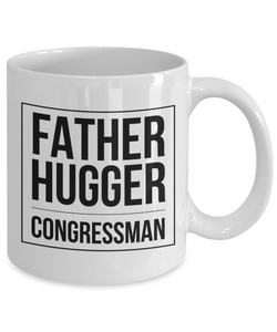 Father Hugger Congressman Gag Gift for Coworker Boss Retirement or Birthday - Ribbon Canyon