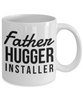 Father Hugger Installer Gag Gift for Coworker Boss Retirement or Birthday - Ribbon Canyon