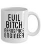 Funny Aerospace Engineer 11Oz Coffee Mug , Evil Bitch Aerospace Engineer for Dad, Grandpa, Husband From Son, Daughter, Wife for Coffee & Tea Lovers - Ribbon Canyon