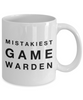 Mistakiest Game Warden Gag Gift for Coworker Boss Retirement or Birthday - Ribbon Canyon