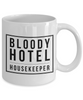 Bloody Hotel Housekeeper Gag Gift for Coworker Boss Retirement or Birthday - Ribbon Canyon