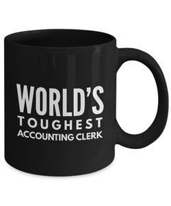 GB-TB6087 World's Toughest Accounting Clerk