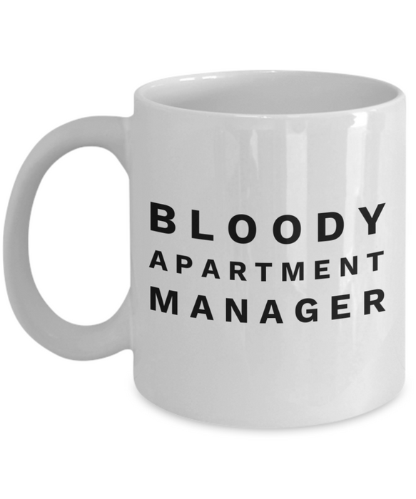 Bloody Apartment Manager Gag Gift for Coworker Boss Retirement or Birthday - Ribbon Canyon