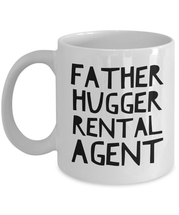 Father Hugger Rental Agent Gag Gift for Coworker Boss Retirement or Birthday - Ribbon Canyon