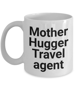 Mother Hugger Travel Agent Gag Gift for Coworker Boss Retirement or Birthday - Ribbon Canyon