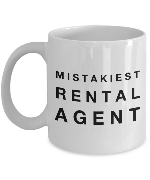 Mistakiest Rental Agent Gag Gift for Coworker Boss Retirement or Birthday - Ribbon Canyon