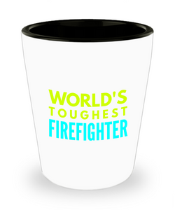 Creative Firefighter Short Glass - Ribbon Canyon