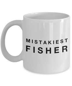 Mistakiest Fisher Gag Gift for Coworker Boss Retirement or Birthday - Ribbon Canyon