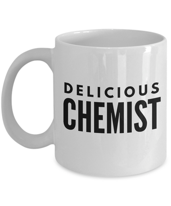 Delicious Chemist - Birthday Retirement or Thank you Gift Idea -   11oz Coffee Mug - Ribbon Canyon