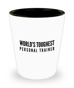 Friend Leaving Novelty Short Glass for Personal Trainer