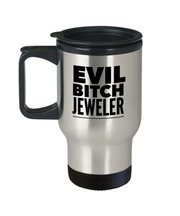 Evil Bitch Jeweler Gag Gift for Coworker Boss Retirement or Birthday - Ribbon Canyon