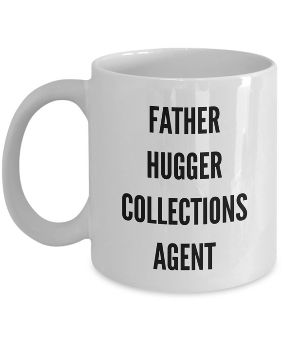 Father Hugger Collections Agent Gag Gift for Coworker Boss Retirement or Birthday - Ribbon Canyon