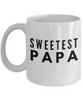Sweetest Papa - Inspired Gifts for Dad Mom Birthday Father or Mother Day   11oz Coffee Mug - Ribbon Canyon