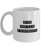Just Shut Up I'm Barista, 11Oz Coffee Mug Unique Gift Idea for Him, Her, Mom, Dad - Perfect Birthday Gifts for Men or Women / Birthday / Christmas Present - Ribbon Canyon