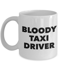 Bloody Taxi Driver Gag Gift for Coworker Boss Retirement or Birthday - Ribbon Canyon
