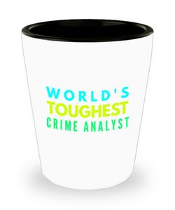 Creative Crime Analyst Short Glass - Ribbon Canyon