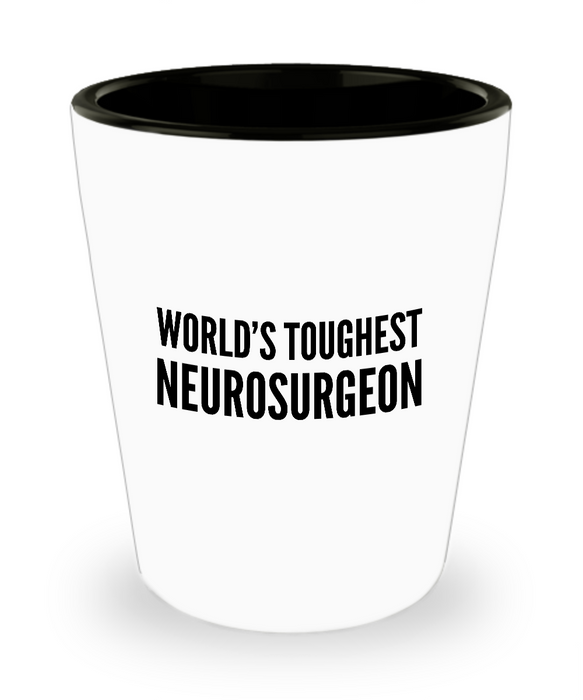 Friend Leaving Novelty Short Glass for Neurosurgeon