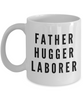 Father Hugger Laborer Gag Gift for Coworker Boss Retirement or Birthday - Ribbon Canyon