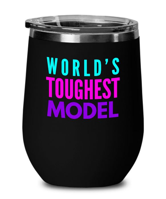 World's Toughest Model Insulated 12oz Stemless Wine Glass - Ribbon Canyon