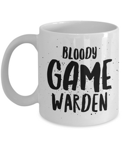 Bloody Game Warden  11oz Coffee Mug Best Inspirational Gifts - Ribbon Canyon