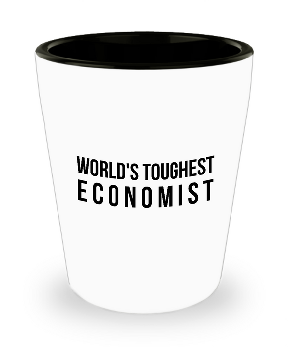 Friend Leaving Novelty Short Glass for Economist