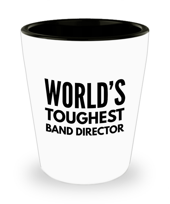 Friend Leaving Novelty Short Glass for Band Director