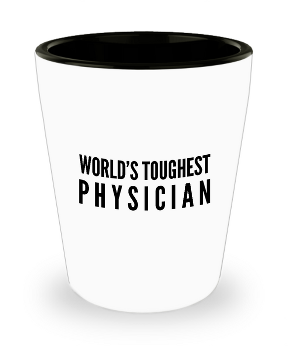 Friend Leaving Novelty Short Glass for Physician