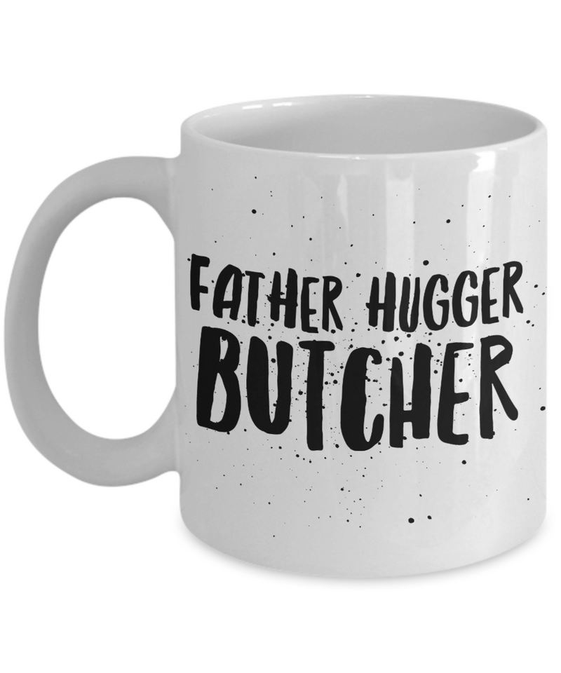 Father Hugger Butcher Gag Gift for Coworker Boss Retirement or Birthday - Ribbon Canyon