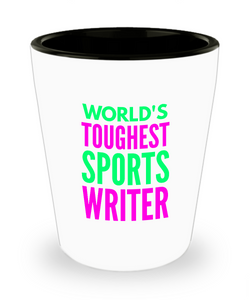 Creative Sports Writer Short Glass - Ribbon Canyon