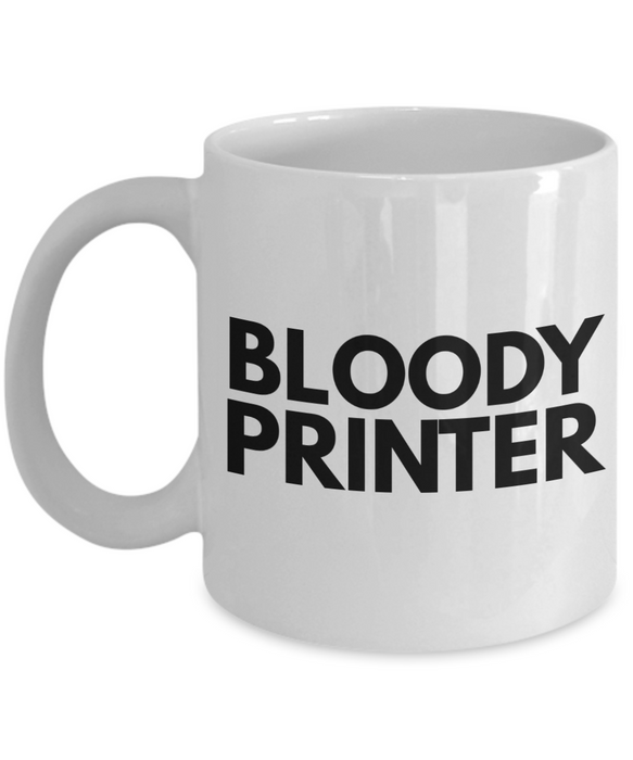 Bloody Printer Gag Gift for Coworker Boss Retirement or Birthday - Ribbon Canyon